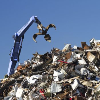 Copper Scraps Metal Recycling